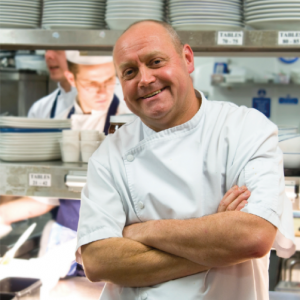 Steven Doherty the first 3 Michelin Star Englishman, worked under the roux brothers - guest chef dinner at The Art School Restaurant