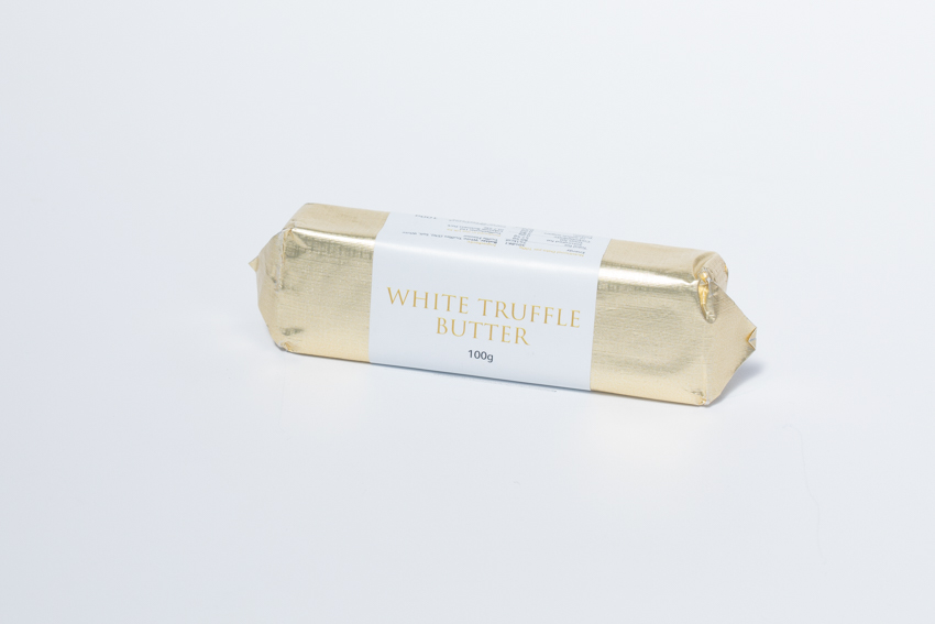 white truffle butter at the art school restaurant emporium of gourmet food & fine wine shop grocery truffles liverpool local