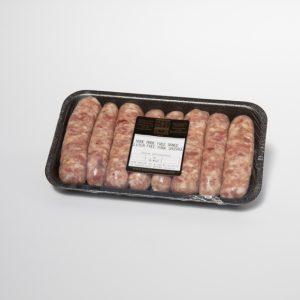 Gluten free pork sausage edge & sons for the art school restaurant emporium of food & wine