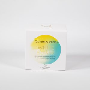 Quinteassential white elixir the art school emporium of food & wine tea
