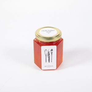 The Art School Chilli Pepper Jam Preserve Emporium of food & wine jar