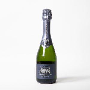 charles heidsieck brut reserve Non vintage half bottle champagne the art school restaurant liverpool