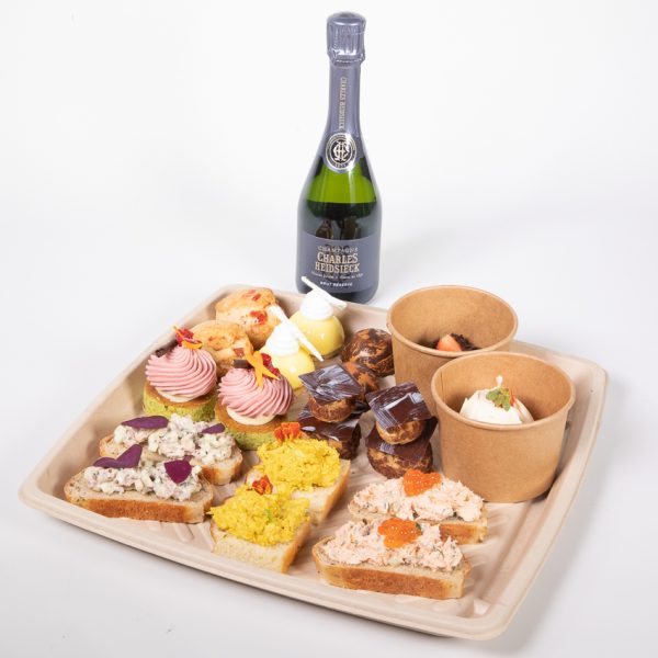 The Art School Afternoon Tea Box Pre Order bank holiday weekend at home