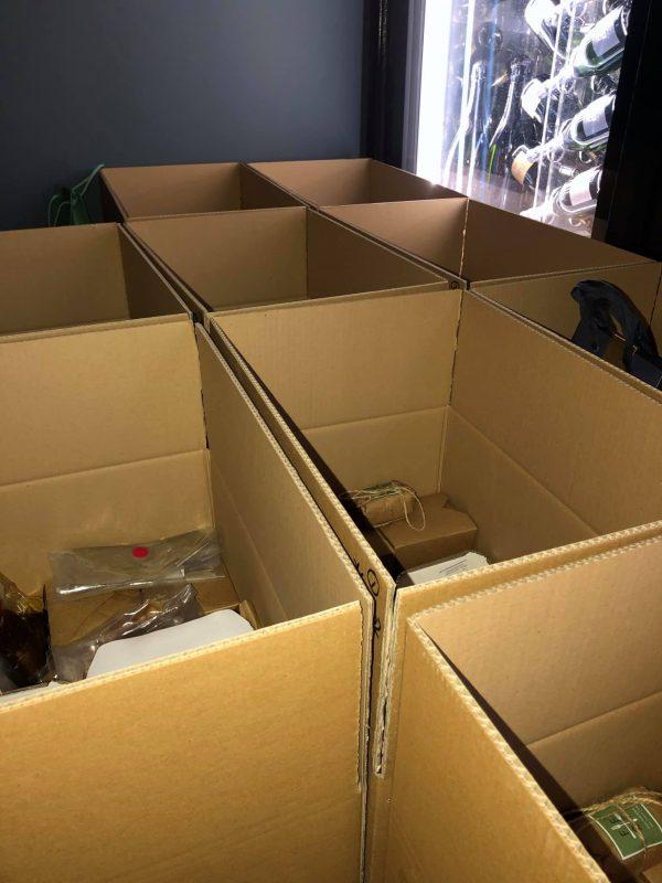 Art School Menu Boxes