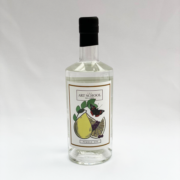 The Art School restaurant liverpool gin pomelo botanicals available in gin hamper gift christmas for guide