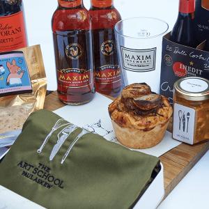 The nCaptains Treasure Chest - Valentines gift hamper 2021 from The Art School Restaurant